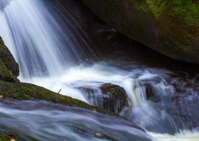 Vodopády sv. Wolfganga u Vyššího Brodu