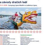 Dračí lodě Lipno 2018 a zahájení letní turistické sezóny