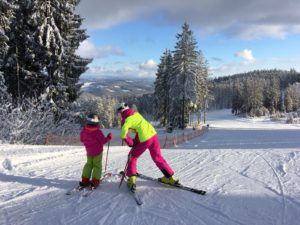 Na Lipně panují ideální lyžařské podmínky